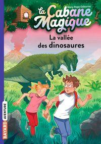 Couverture «La vallée des dinosaures»