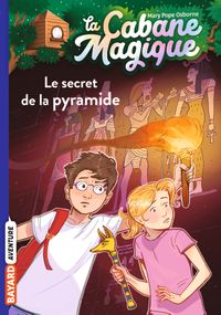Couverture « Le secret de la pyramide »