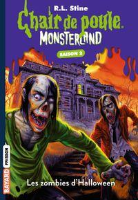 Couverture «Les zombies d'Halloween»