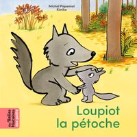 Cover of « Loupiot la pétoche »