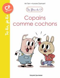 Cover of «Copains comme cochons»