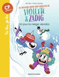 Cover of «Un jour la neige viendra»