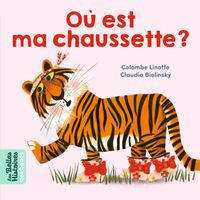 Cover of «Où est ma chaussette ?»
