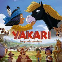 Couverture «Yakari La grande aventure (l'album du film)»