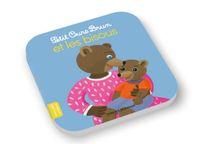 Cover of «Petit Ours Brun et les bisous»