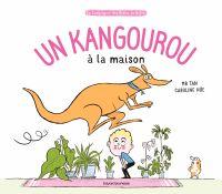 Couverture «Un kangourou à la maison»