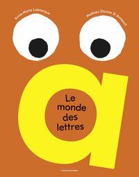 Couverture «Le monde des lettres»