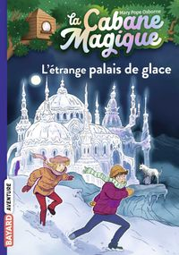 Couverture «L'étrange palais de glace»