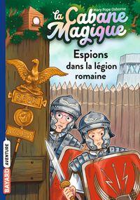 Couverture «Espions dans la légion romaine»