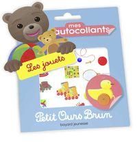 Couverture «Mes autocollants Petit Ours Brun – Les jouets»