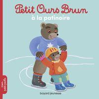 Couverture «Petit Ours Brun va à la patinoire»