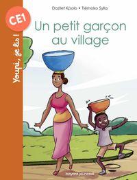 Couverture «Un petit garçon au village»