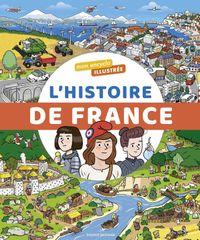 Couverture «L'encyclo illustrée de l'histoire de France»