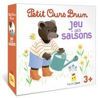 Couverture «Petit Ours Brun – Le jeu des saisons»