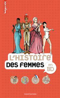 Couverture «L'Histoire des femmes en BD»