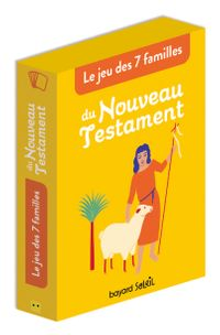 Couverture «Jeu de 7 familles du Nouveau Testament»