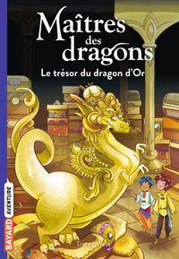 Couverture «Le trésor du dragon d'Or»