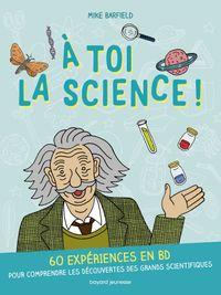 Couverture «À toi la science !»
