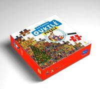 Couverture «La famille Oukilé Puzzle Le marché de Noël»