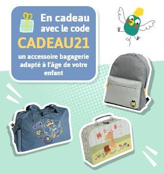 JOURS WAOUH Un accessoire bagagerie en cadeau avec le code CADEAU21