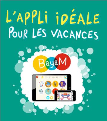 Bayam, l'appli idéale pour les vacances