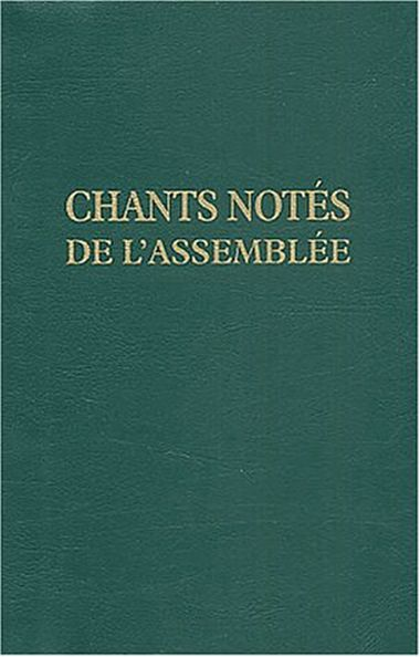 Couverture de « CHANTS NOTES POUR L'ASSEMBLEE »