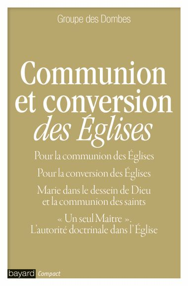Couverture de « COMMUNION ET CONVERSION DES EGLISES »