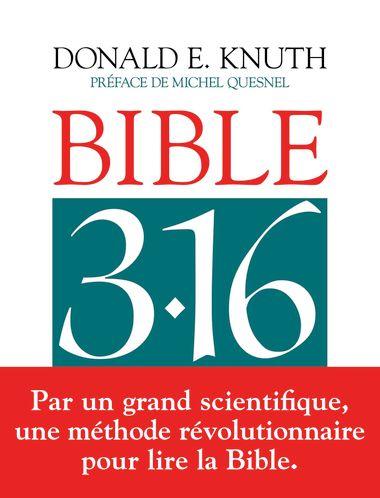 Couverture de « Bible 3 : 16 »