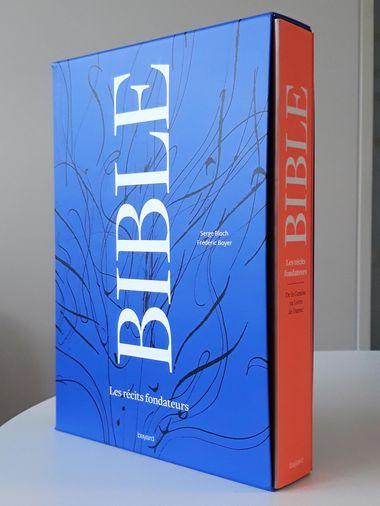 Couverture de «Coffret Bible Les récits fondateurs et DVD»