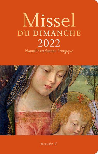 Couverture de «Missel du dimanche 2022 et son livret Vivre la messe»