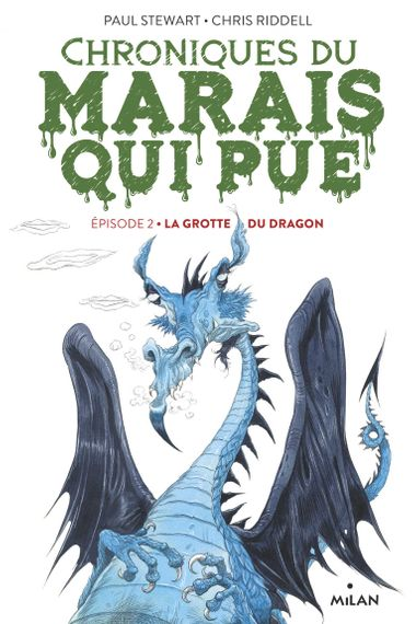 Couverture de « La grotte du dragon »
