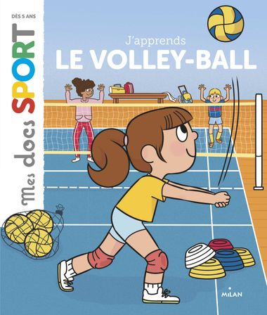 Couverture de « J'apprends le volley-ball »