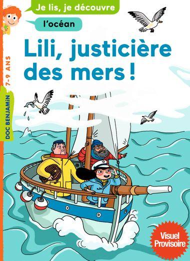 Couverture de «Lili, justicière des mers»