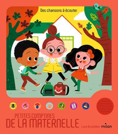 Couverture de «Petites comptines de la maternelle»