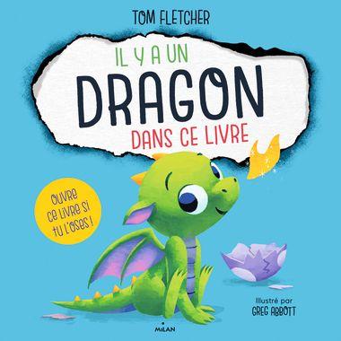 Couverture de «Il y a un dragon dans ce livre»