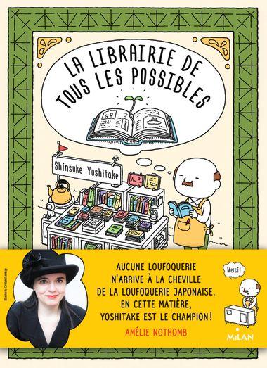 Couverture de «La librairie de tous les possibles»