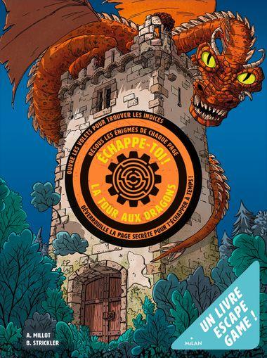 Couverture de «Échappe-toi de la tour aux dragons»