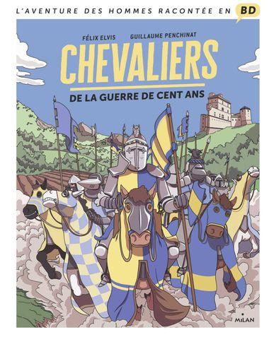 Couverture de «Chevaliers de la guerre de Cent Ans»