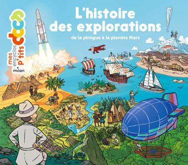 Couverture de «L'histoire des explorations»