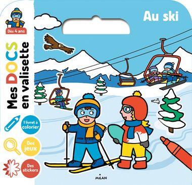 Couverture de «Au ski»