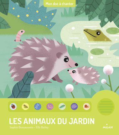 Couverture de «Les animaux du jardin»