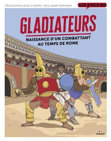 Couverture de «Gladiateurs au temps de Rome»