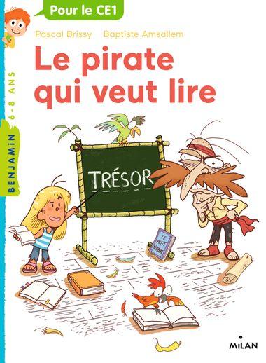 Couverture de «Le pirate qui veut lire»