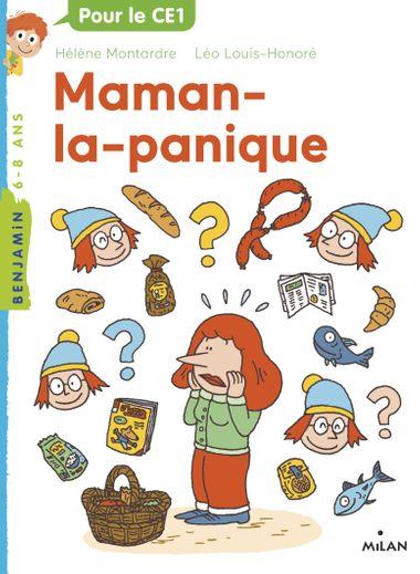 Couverture de «Maman la panique»