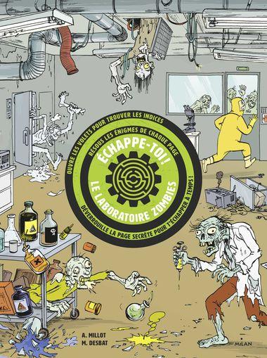 Couverture de «Échappe-toi – Le laboratoire aux zombies»