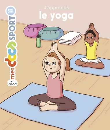 Couverture de « J'apprends le yoga »
