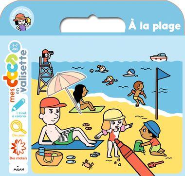Couverture de «À la plage»