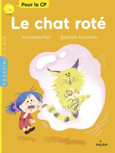 Couverture de « Le chat roté »