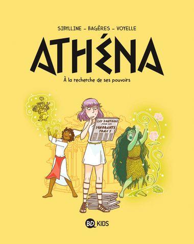 Couverture de «Athéna 2 – À la recherche de son pouvoir»