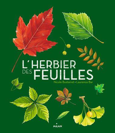 Couverture de «L'herbier des feuilles»
